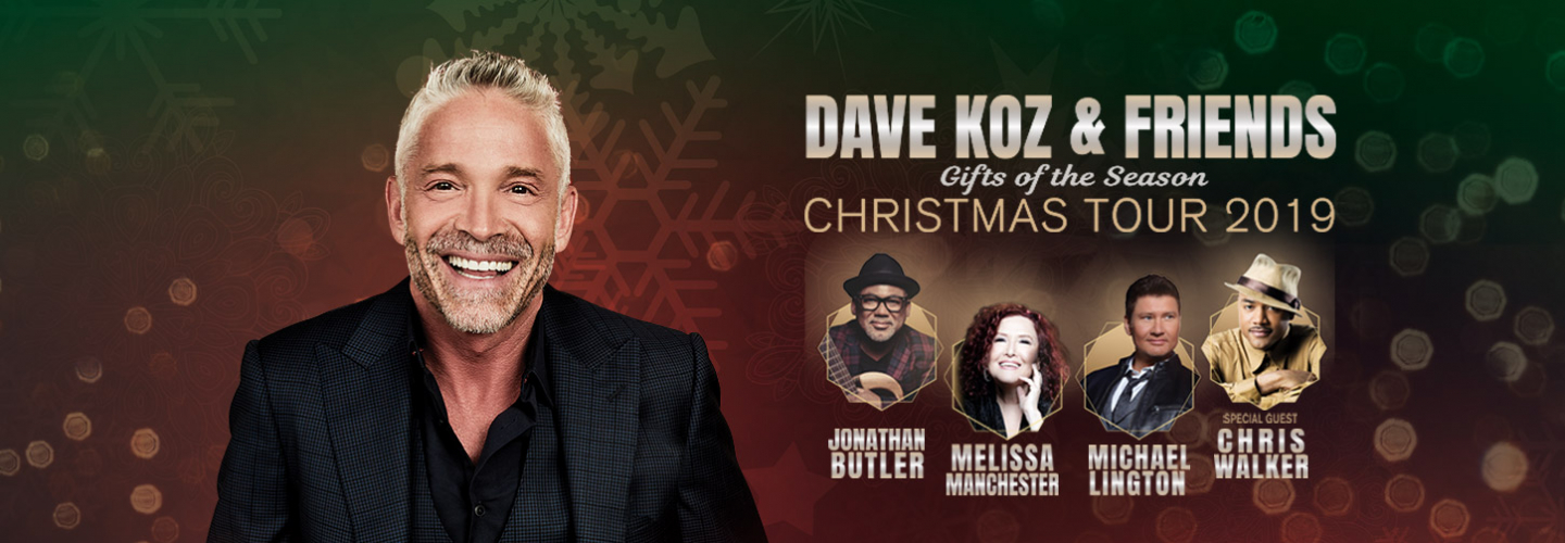 Dave Koz and Friends Christmas, Ruth Eckerd Hall - Clearwater - 1111 McMullen Booth Rd