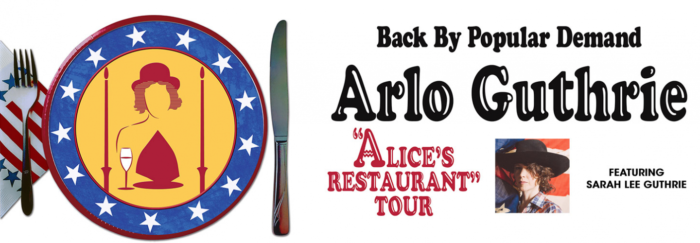 Arlo Guthrie, Capitol Theatre - Clearwater - 405 Cleveland St