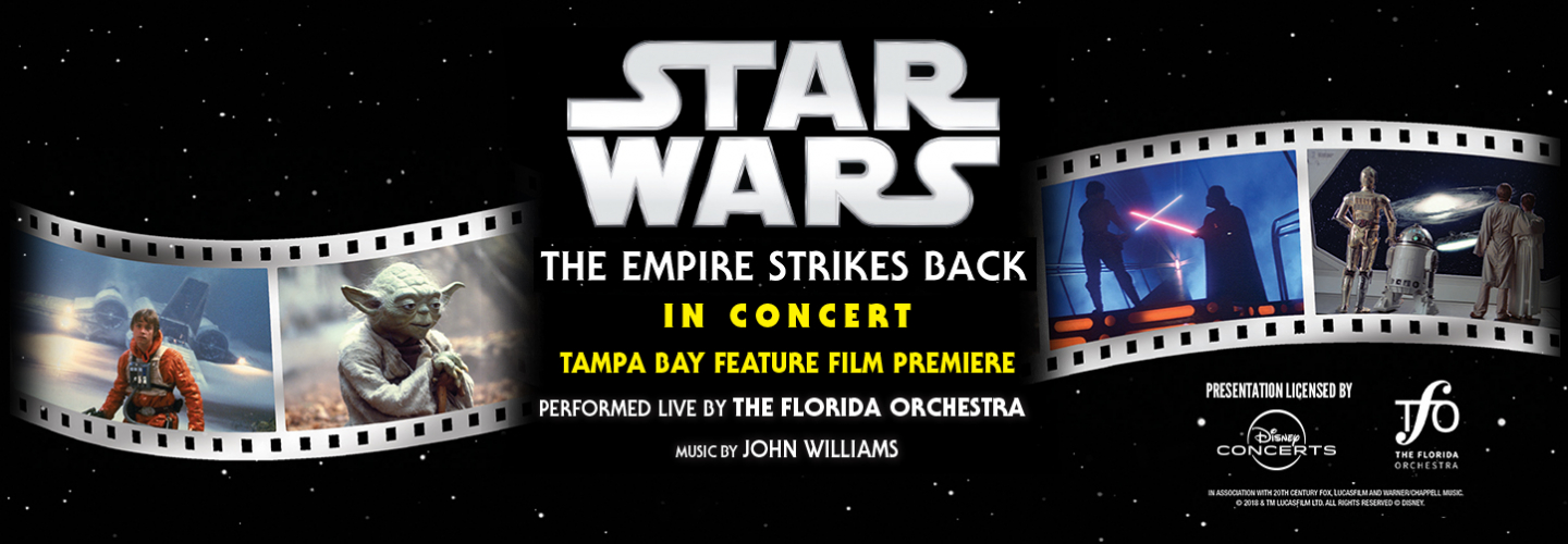 Star Wars Live In Concert, Ruth Eckerd Hall - Clearwater - 1111 McMullen Booth Rd