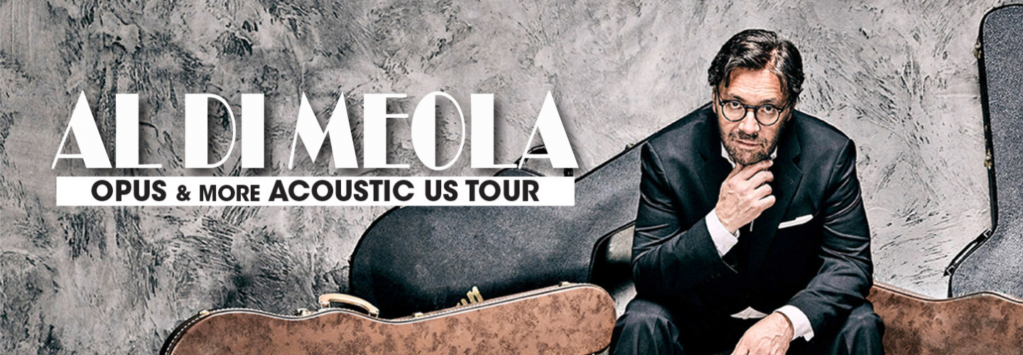 Al Di Meola, Capitol Theatre - Clearwater - 405 Cleveland St