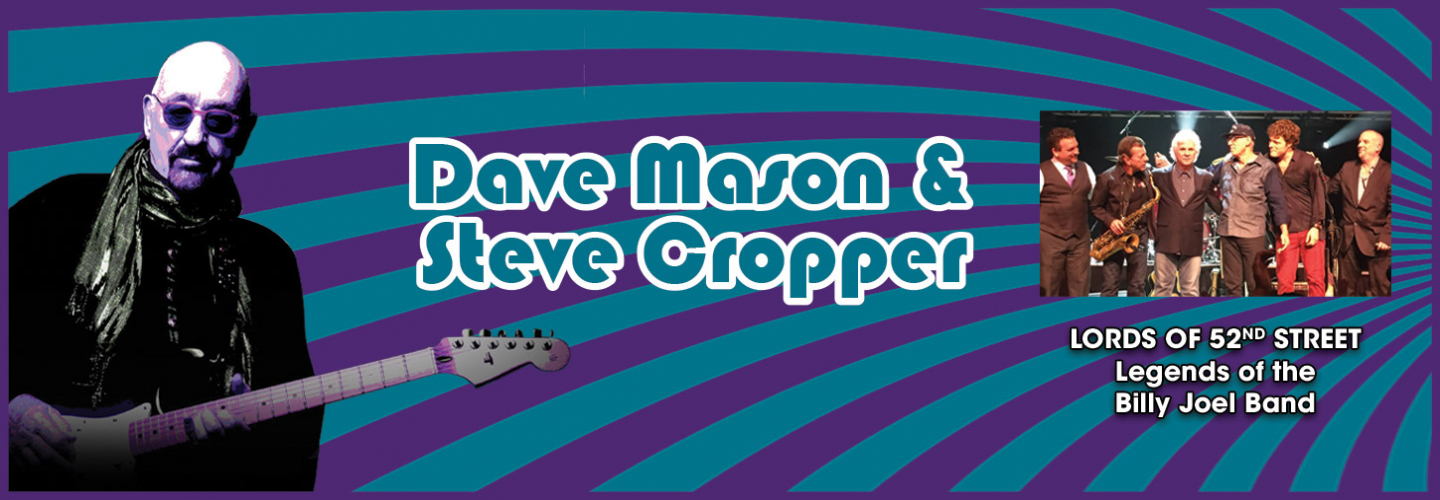 Dave Mason & Steve Cropper, Ruth Eckerd Hall - Clearwater - 1111 McMullen Booth Rd