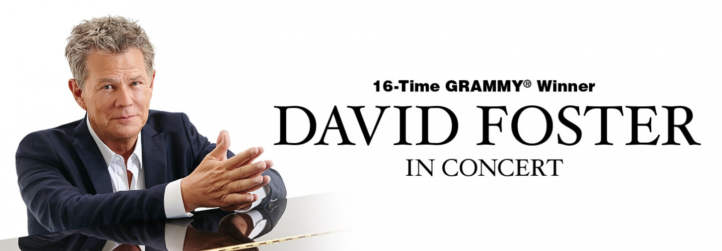 David Foster, Ruth Eckerd Hall - Clearwater - 1111 McMullen Booth Rd