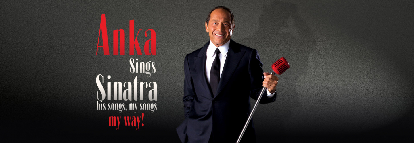 Paul Anka – Anka Sings Sinatra, Ruth Eckerd Hall - Clearwater - 1111 McMullen Booth Rd