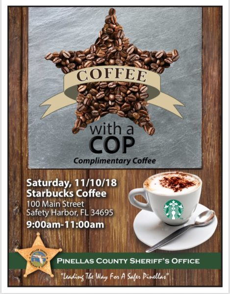 Coffee with a Cop - Safety Harbor Starbucks,  -  -  - Safety Harbor